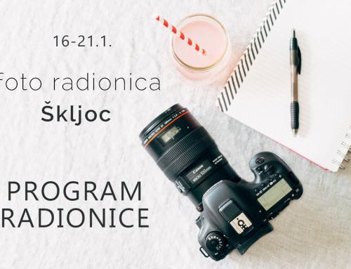 """FOTO RADIONICA """"ŠKLJOC"""" – PROGRAM"""