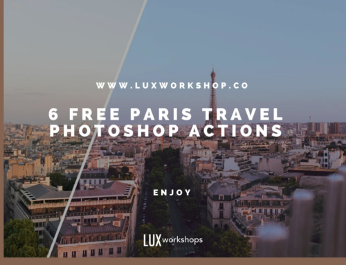 FREE PARIS TRAVEL PHOTOSHOP ACTIONS