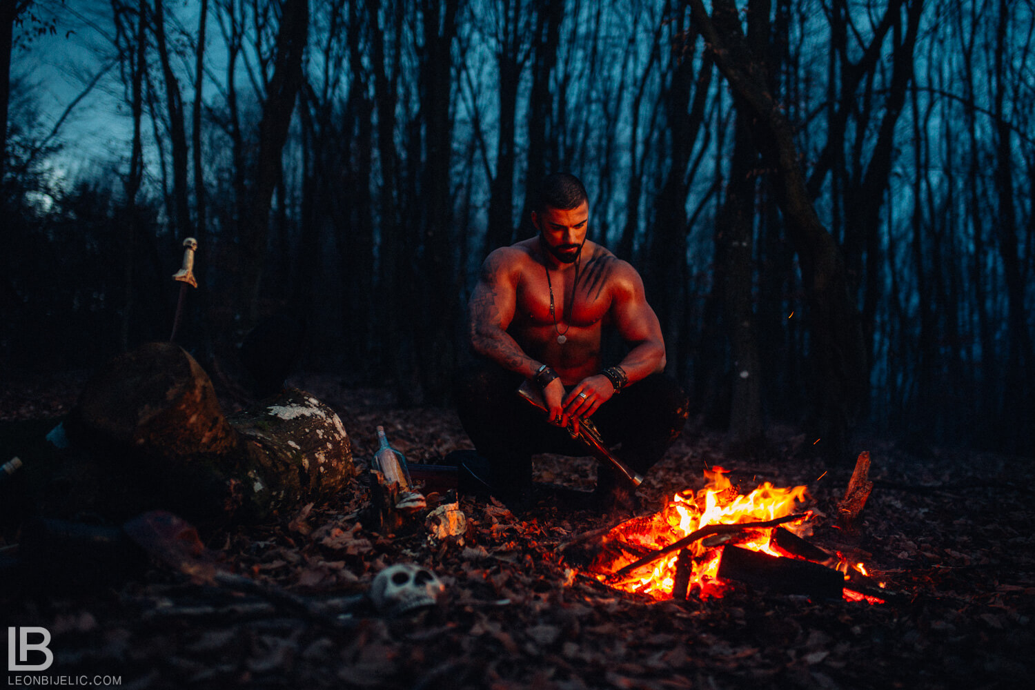 PHOTO SESSION / THE GUARDIAN OF THE WOODS