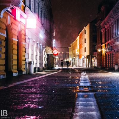 GRAD BANJA LUKA - Fotograf Leon Bijelic, Gospodska ulica
