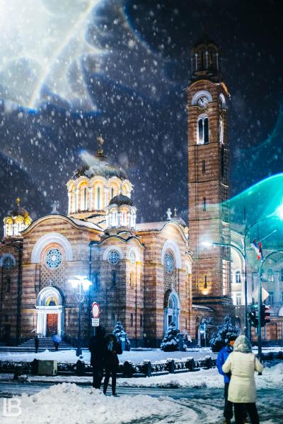 GRAD BANJA LUKA - Fotograf Leon Bijelic, Hram Hrista Spasitelja