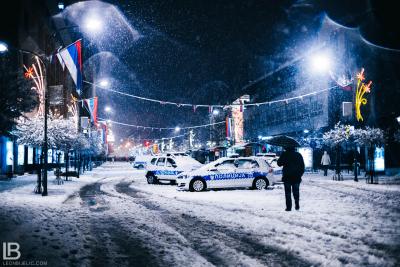 GRAD BANJA LUKA - VRIJEME 2018 - Fotograf Leon Bijelic - Policija
