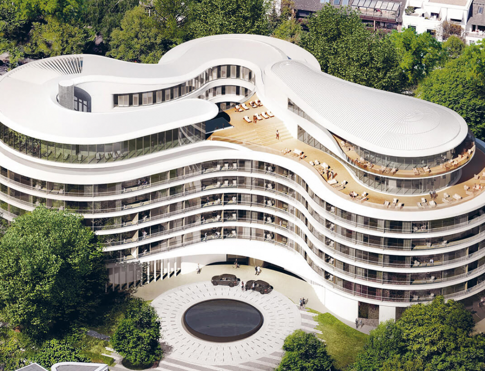 NEW LUXURY HOTEL FONTENAY – HAMBURG / GERMANY
