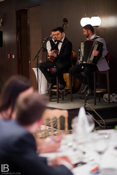 Davor Jovanović - Vokalni solista / Hotel Metropol Palace - Rotary Klub Beograd / Dom Drinka Pavlović / Humanitarno veče / Foto by: Leon Bijelic