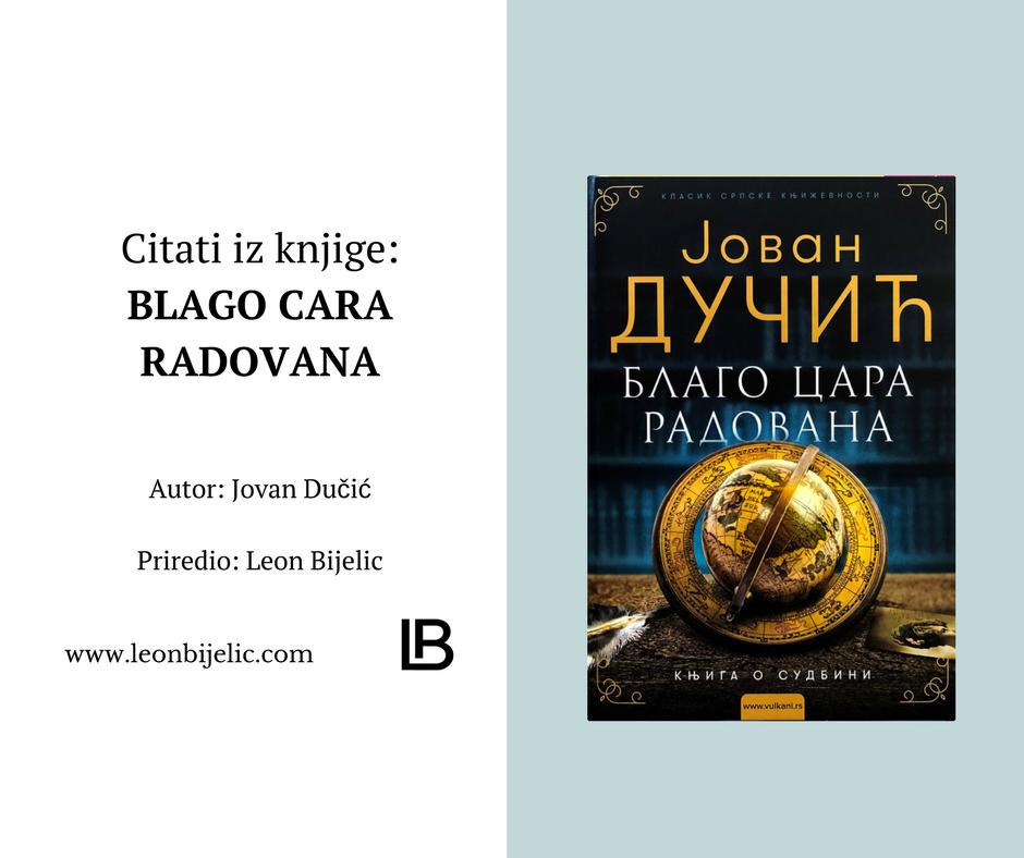 Izreke Iz Knjige Blago Cara Radovana Jovan Dučić