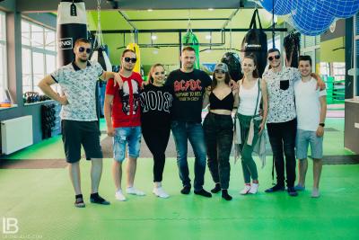 INFINITY: ANDJELA I NADJA PESMA USPEH - FOTO: LEON BIJELIC / Filip Taboo, Srdjan Panter, Dragan Gliga, Tata Zoran, Zaga make up