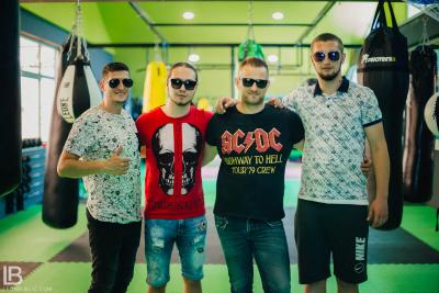 INFINITY: ANDJELA I NADJA PESMA USPEH - FOTO: LEON BIJELIC / Filip Taboo, Srdjan Panter, Dragan Gliga i Tata Zoran