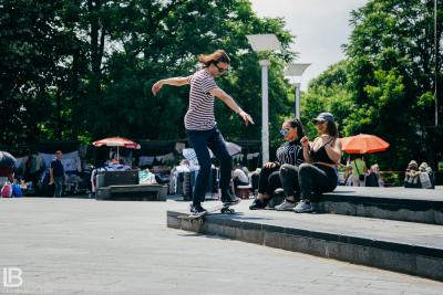 INFINITY: ANDJELA I NADJA PESMA USPEH - FOTO: LEON BIJELIC / Miroslav Knežević Ćiro pro skater