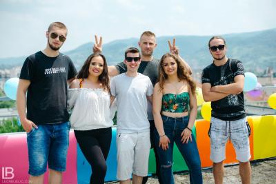 ANDJELA I NADJA - OLA OLE - NOVA PESMA / Leon / Panter / Gliga / Nađa / Anđela / Zoka