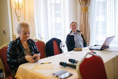 PETAR GARJAJEV – PRESS CONFERENCE & SEMINAR / BELGRADE