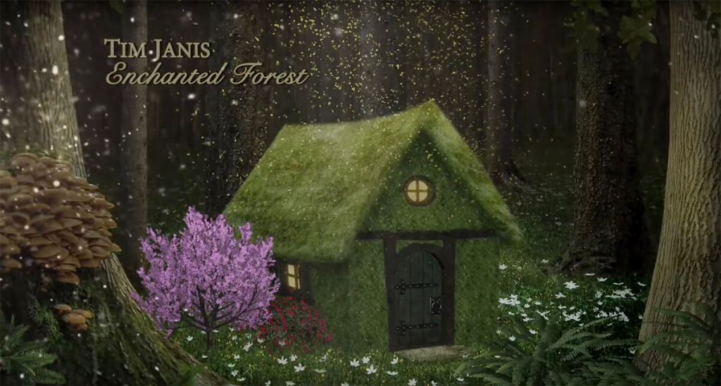 Peaceful & Relaxing Music - Enchanted Forest - by composer Tim Janis