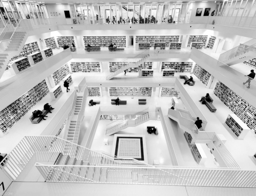 STUTTGART CITY LIBRARY – STADTBIBLIOTHEK – PHOTOS