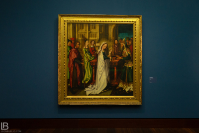 KUNSTHALLE MUSEUM - HAMBURG - PHOTOS BY LEON BIJELIC - Germany - Kunst - Art - Painting - Hans Holbein d. Ã. - The Christ in the temple - 1500/08 - Oil on canvas
