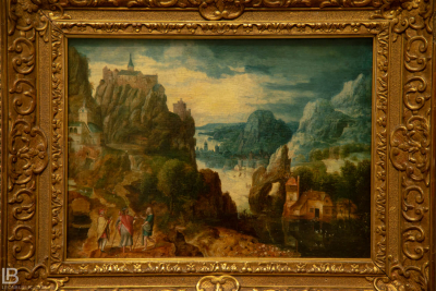 KUNSTHALLE MUSEUM - HAMBURG - PHOTOS BY LEON BIJELIC - Germany - Kunst - Art - Painting - Herri met de Bles - Landscape with the Road to Emmaus - 1597 - Oil on oak panel