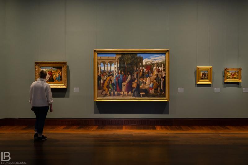 KUNSTHALLE MUSEUM - HAMBURG - PHOTOS BY LEON BIJELIC - Germany - Kunst - Art - Painting - Julius Schnorr von Carolsfeld - The Marriage at Cana - 1819 - Oil on canvas