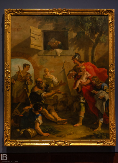 KUNSTHALLE MUSEUM - HAMBURG - PHOTOS BY LEON BIJELIC - Germany - Kunst - Art - Painting - Sebastiano Ricci - Harpagus Bringing Cyrus to the Shepherds - Oil on canvas