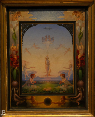 KUNSTHALLE MUSEUM - HAMBURG - PHOTOS BY LEON BIJELIC - Germany - Kunst - Art - Painting - Philipp Otto Runge - Morning (second version) - 1808/09 - Oil on canvas