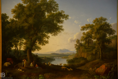 KUNSTHALLE MUSEUM - HAMBURG - PHOTOS BY LEON BIJELIC - Germany - Kunst - Art - Painting - Jakob Philipp Hackert - Italian River Landscape - 1776 - Oil on canvas