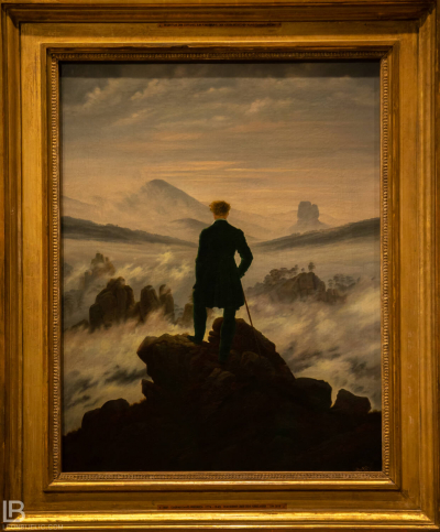KUNSTHALLE MUSEUM - HAMBURG - PHOTOS BY LEON BIJELIC - Germany - Kunst - Art - Painting - Caspar David Friedrich - Wanderer above the Sea of Fog - 1817 - Oil on canvas