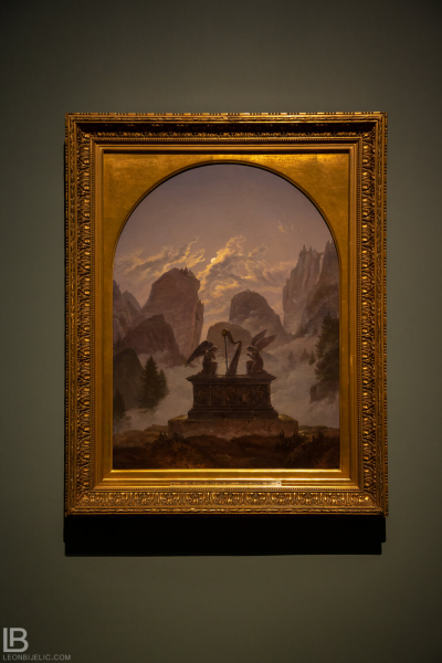 KUNSTHALLE MUSEUM - HAMBURG - PHOTOS BY LEON BIJELIC - Germany - Kunst - Art - Painting - Carl Gustav Carus - Goethe Memorial - 1832 - Oil on canvas