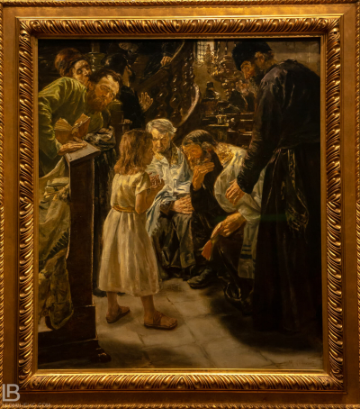 KUNSTHALLE MUSEUM - HAMBURG - PHOTOS BY LEON BIJELIC - Germany - Kunst - Art - Painting - Max Liebermann - The Twelve-Year-Old Jesus in the Temple - 1879 - Oil on canvas
