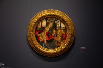 KUNSTHALLE MUSEUM - HAMBURG - PHOTOS BY LEON BIJELIC - Germany - Kunst - Art - Painting - Sebastiano di Bartolo Mainardi - The Virgin and Child with the Young Saint John the Baptist and Angels - Tempera on poplar panel