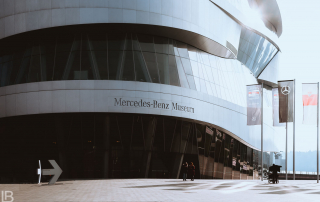 MERCEDES-BENZ CARS MUSEUM / CITY STUTTGART - GERMANY - Leon Bijelic Photography