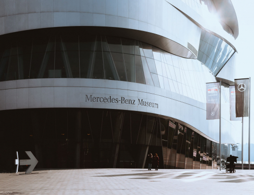 MERCEDES-BENZ MUSEUM / STUTTGART – GERMANY