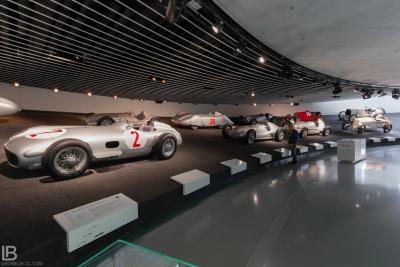 MERCEDES-BENZ CARS MUSEUM / CITY STUTTGART - GERMANY - Leon Bijelic Photography / CAR