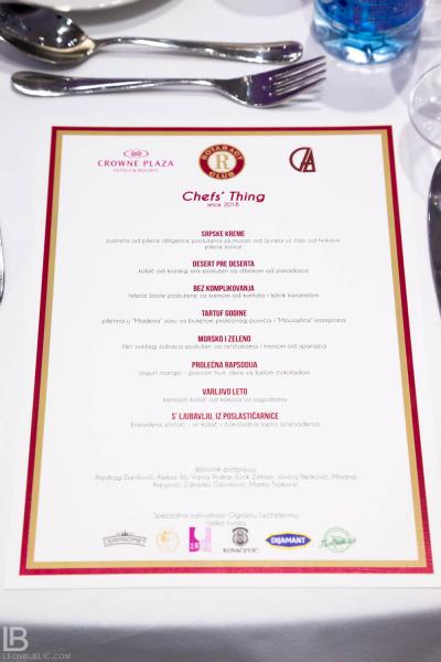 CHEFS THING - CROWN PLAZA HOTEL BELGRADE - FOTOGRAFIJE - SLIKE - LEON BIJELIC FOTOGRAF - ROTARY CLUB / ROTRAKT KLUB BEOGRAD 2019
