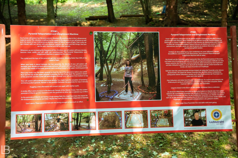 BOSANSKE PIRAMIDE I ARHEOLOŠKI PARK TUNEL RAVNE 2 - VISOKO - FOTOGRAF LEON BIJELIC - FOTOGRAFIJE - BOSNA I HERCEGOVINA - Archaeological Tourist Park Tunnel Ravne 2 - Valley of Pyramids - Teleport machine