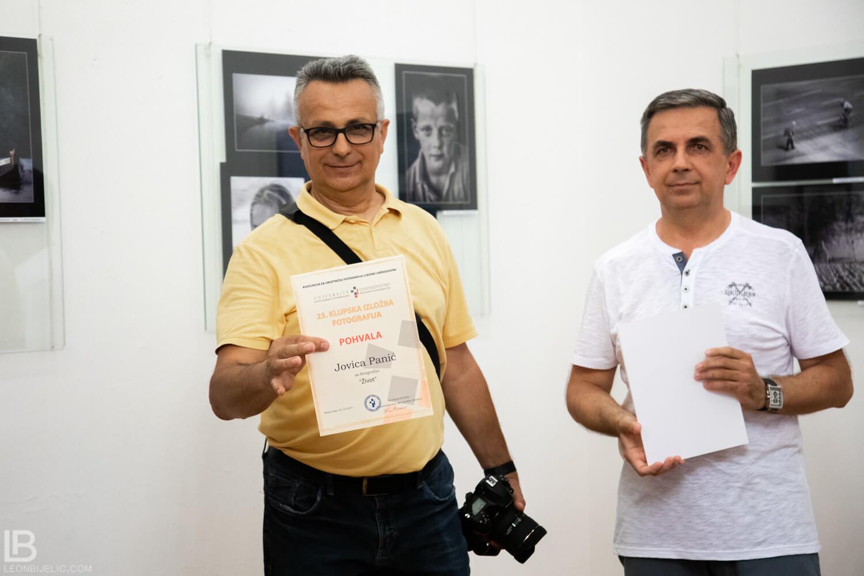 23. KLUPSKA IZLOŽBA FOTOGRAFIJA - BANSKI DVOR - DRAGAN PROLE - MILORAD KASCELANI - IZLOZBA - BANJA LUKA - FOTOGRAF FOTOGRAFIJE - FOTO - UMJETNOST UMJETNIČKA - JOVICA PANIC