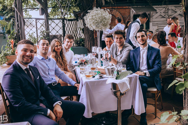 WEDDING BELGRADE - TIJANA I MARKO - LEON BIJELIC PHOTOGRAPHY PHOTOGRAPHER - SERBIA - SRBIJA - BEOGRAD - FRIENDS