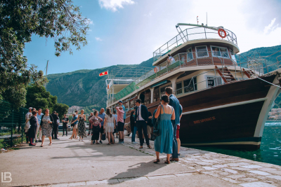 KOTOR WEDDING PHOTOGRAPHER - M&A - HOTEL CATTARO - LEON BIJELIC PHOTOS PHOTO PHOTOGRPAHY - BOKA BAY - MONTENEGRO - WEDDING - CRUISER LUNCH DINNING TOUR