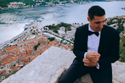 KOTOR WEDDING PHOTOGRAPHER - HOTEL CATTARO - LEON BIJELIC PHOTOS PHOTO PHOTOGRPAHY - MONTENEGRO - WEDDING - COUPLE - IDEAS - PORTRAITS PORTRAIT AMAZING AWESOME GREAT UNIQUE COOL - OLD TOWN - CITY VIEW