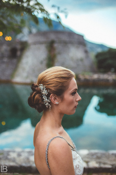 KOTOR WEDDING PHOTOGRAPHER - M&A - HOTEL CATTARO - LEON BIJELIC PHOTOS PHOTO PHOTOGRPAHY - BOKA BAY - MONTENEGRO - WEDDING - PEOPLE - SUMMER - BRIDE PORTRAIT