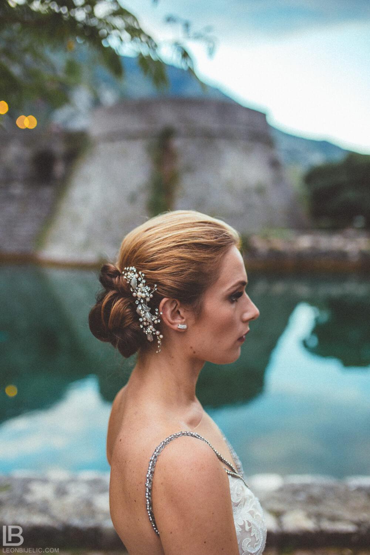 KOTOR WEDDING PHOTOGRAPHER - M&A - HOTEL CATTARO - LEON BIJELIC PHOTOS PHOTO PHOTOGRPAHY - BOKA BAY - MONTENEGRO - WEDDING - PEOPLE - SUMMER - BRIDE PORTRAIT