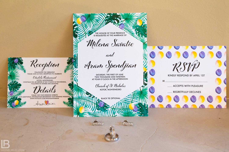 KOTOR WEDDING PHOTOGRAPHER - M&A - HOTEL CATTARO - LEON BIJELIC PHOTOS PHOTO PHOTOGRPAHY - BOKA BAY - MONTENEGRO - WEDDING - INVITATIONS INVITATION