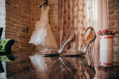 KOTOR WEDDING PHOTOGRAPHER - M&A - HOTEL CATTARO - LEON BIJELIC PHOTOS PHOTO PHOTOGRPAHY - BOKA BAY - MONTENEGRO - WEDDING - DRESS SHOES AND DETAILS