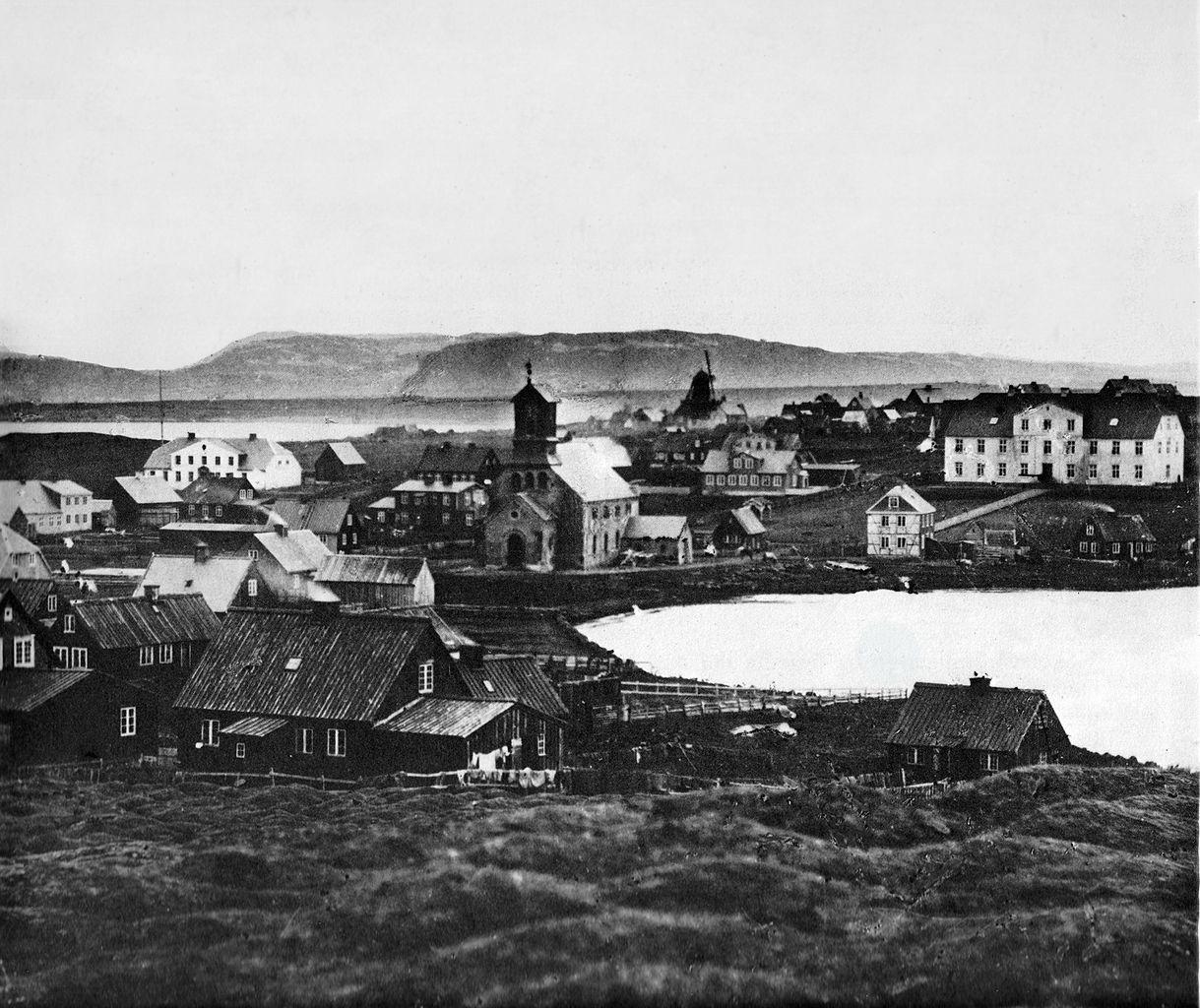 Reykjavik - Photo autor: Sigfús Eymundsson (1837 - 1911)