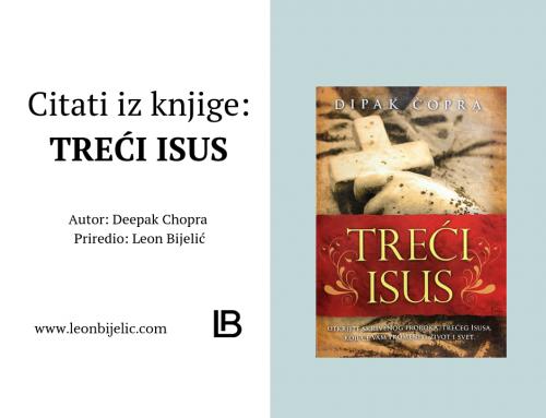 CITATI IZ KNJIGE – TREĆI ISUS – DIPAK ČOPRA