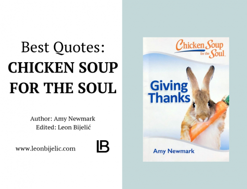 CHICKEN SOUL SOUP – THANKS GIVING – BEST QUOTES – AMY NEWMARK