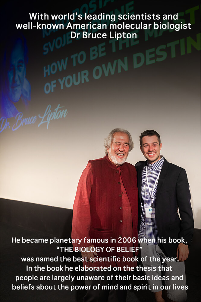 Dr Bruce Lipton and Photographer Leon Bijelic