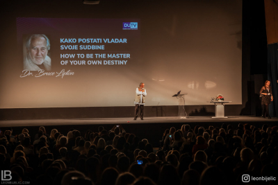 DR BRUCE LIPTON - SEMINAR IN ZAGREB 2019 - Photo by photographer Leon Bijelic photography - Studentski Centar u Zagrebu