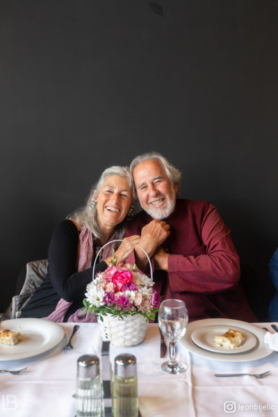 DR BRUCE LIPTON with his wife- SEMINAR IN ZAGREB 2019 - Photo by photographer Leon Bijelic photography - VIP ručak