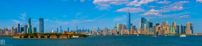 Beautiful panoramic view from New Jersey on New York - Photo by Leon Bijelic - Architecture Building Buildings Photos Amazing Great Color