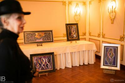 Beograd - Hotel Moskva - Slikarka Gordana Nikezić Slike