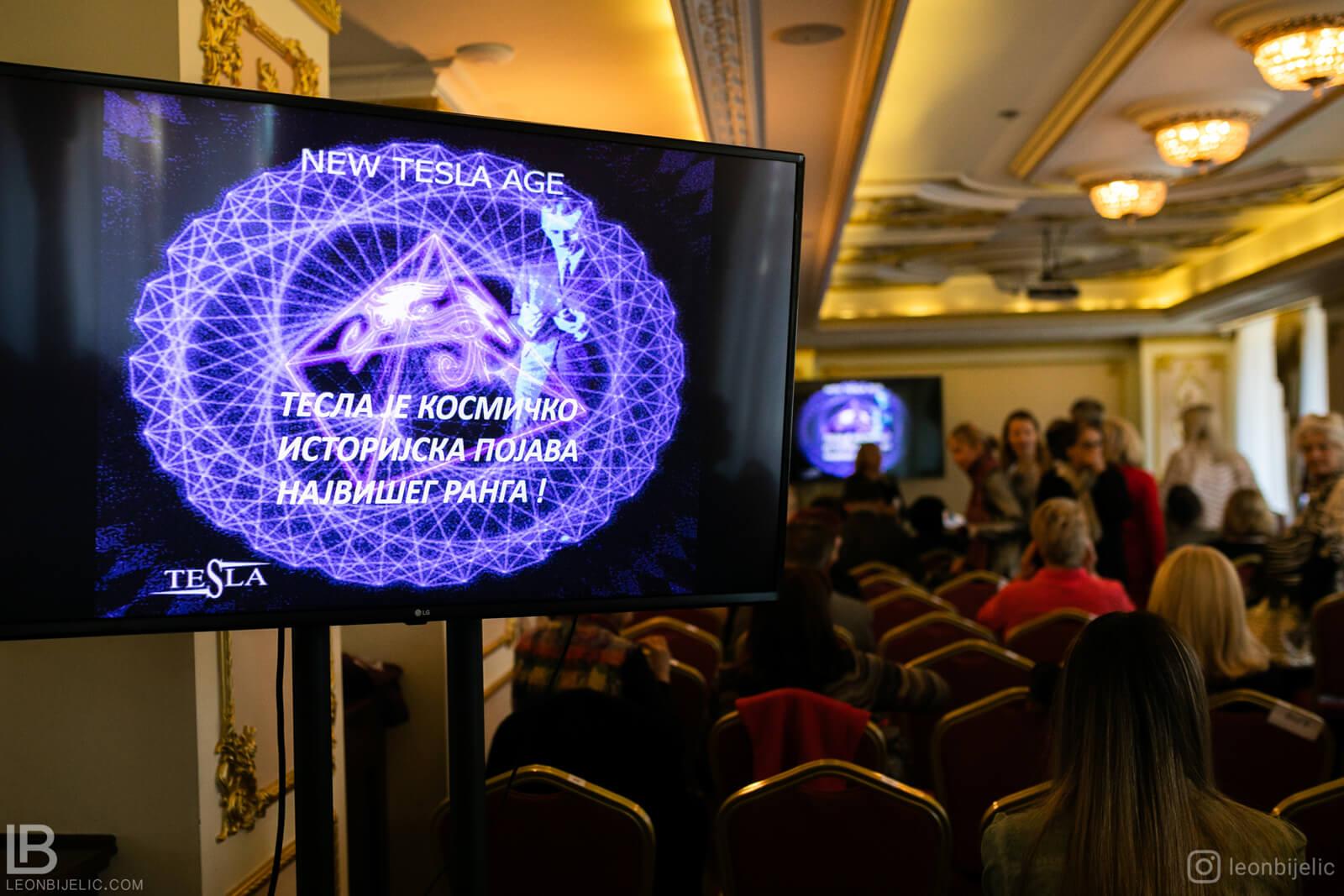 Nikola Tesla - Seminar - Beograd - Hotel Moskva