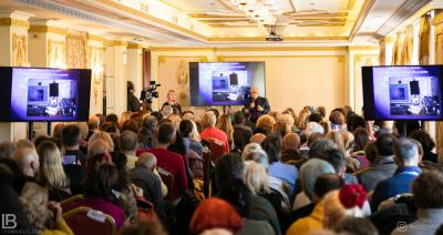 Akademik Dr Petar Pjotr Garjajev - Seminar - Beograd - Hotel Moskva - Milka Kresoja