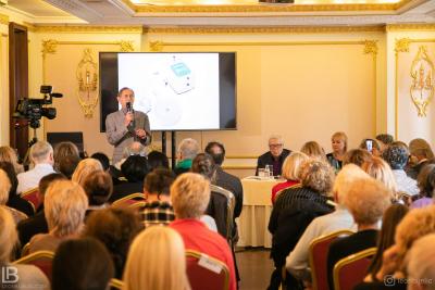 Akademik Dr Petar Pjotr Garjajev - Seminar - Beograd - Hotel Moskva - Milka Kresoja - Spasoje Vlajić